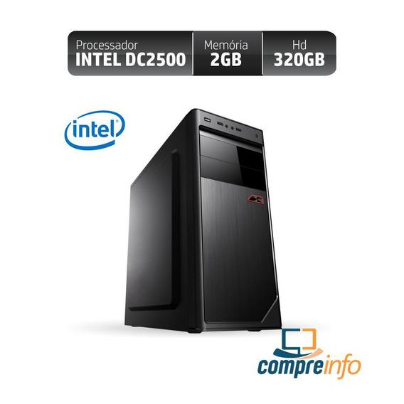 Computador Rio Dual Core 2500 2gb 320gb