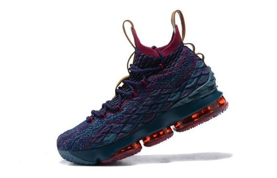 Zapatillas Nike Lebron James 15 Terracota De Colores 40/46