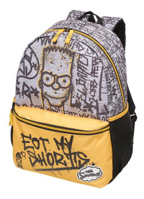 Mochila Ct G Simpsons Bart Eat My Shorts - G