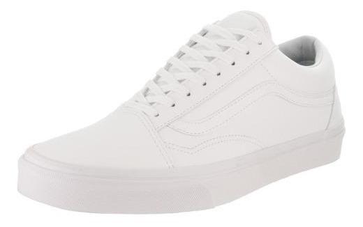 Tenis Vans - Old Skool Classic - Blanco - Unisex - 0a38g1odj