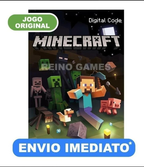 Minecraft Original (key Mojang) - Envio Imediato