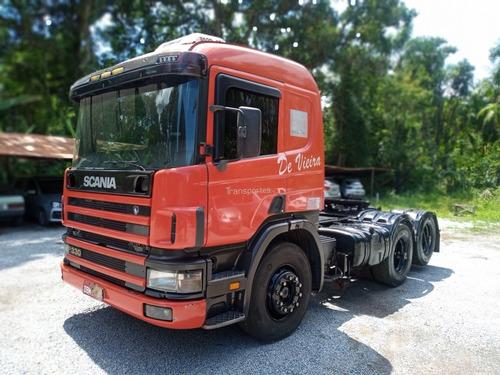 Scania 114 P330 2005 + Carreta Randon 2000