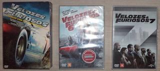 Box Velozes & Furiosos (5 Filmes) + Vf 6 E 7 Lacrados