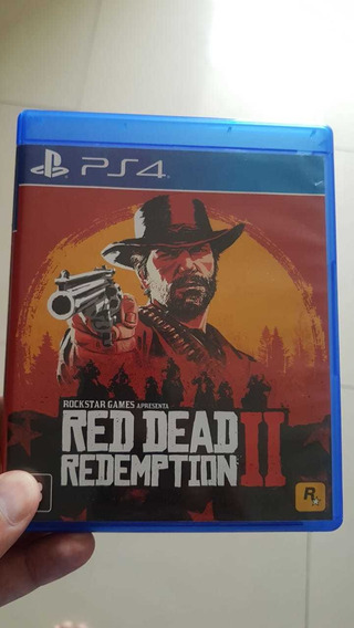 Jogo Red Dead 2 Ps4