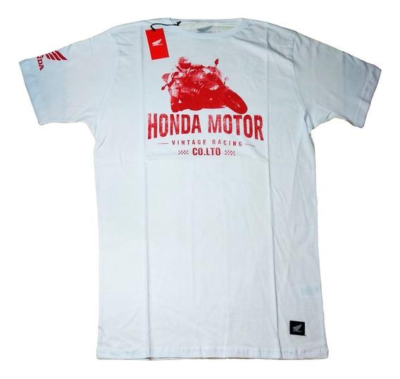 Remera Honda Race Cbr S19 Original - Mobi Motos