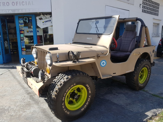 Willys Modelo 43 Motor Ford 188 Caja Zf