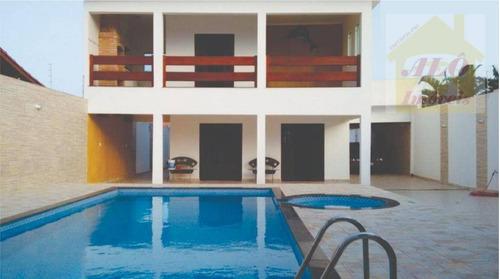 Sobrado Com 4 Dormitórios À Venda, 223 M² Por R$ 550.000,00 - Estância Balneária De Itanhaém - Itanhaém/sp - So0490