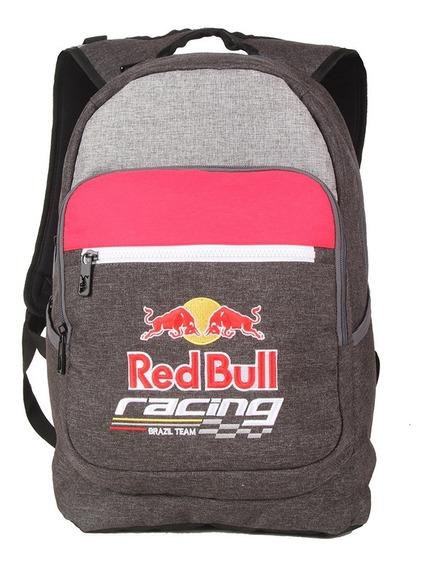 Mochila Red Bull Original Masculina Moderna Reforçada Chumbo