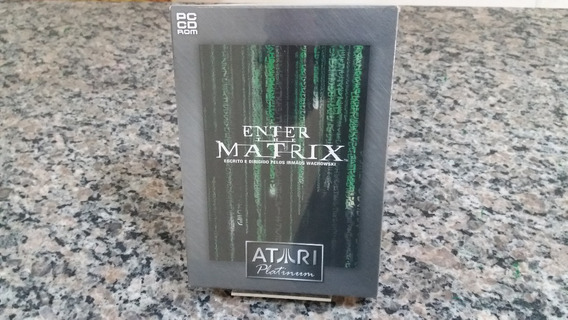 Enter The Matrix Original Pc Cd-rom Original Lacrado