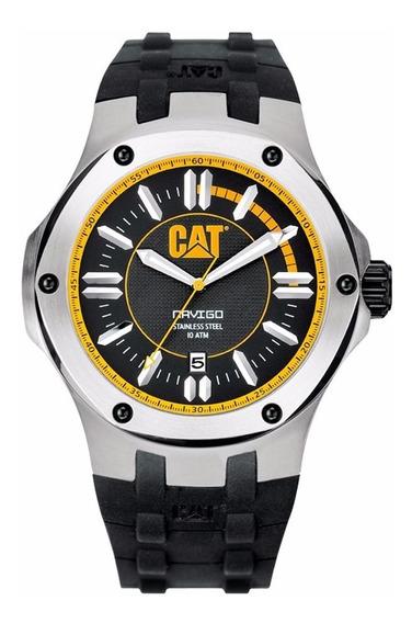 Cat Watches Navigo Mecanismo Suizo Ace A114121127 Skull Made