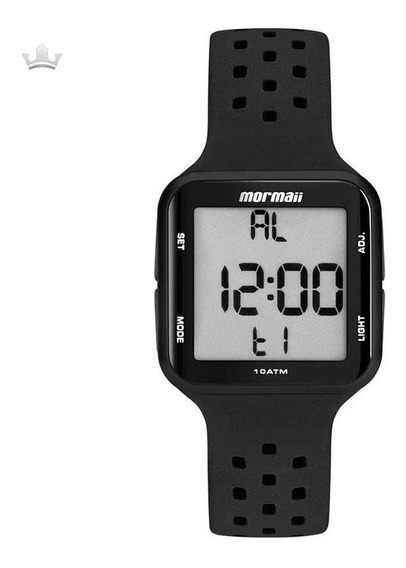 Relógio Mormaii Unissex Mo6600/8p Com Nf