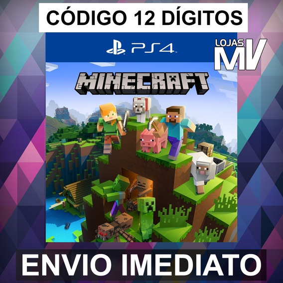 Minecraft Codigo 12 Digitos Ps4