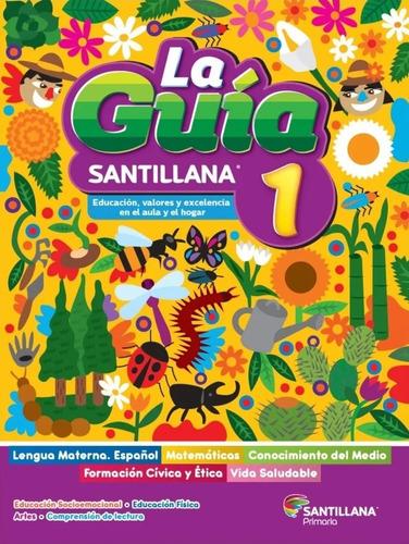 Imagen 1 de 4 de Paquete Guía Santillana 1º Primaria Oficial 2021 - 2022