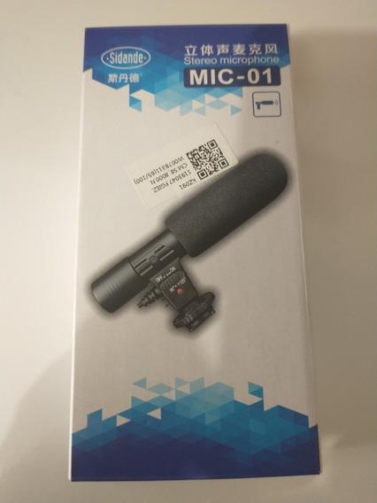 Microfone Para Câmeras Dslr Nikon/canon