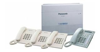 Paquete Panasonic Kx-tes824, 2 Kx-t7730, 3 Kx-ts500 1 Cid