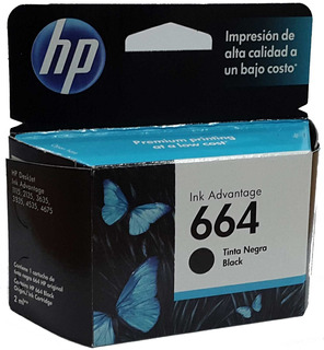 Cartucho Hp 664 Negro Advantage 1115 2135 3635 Original