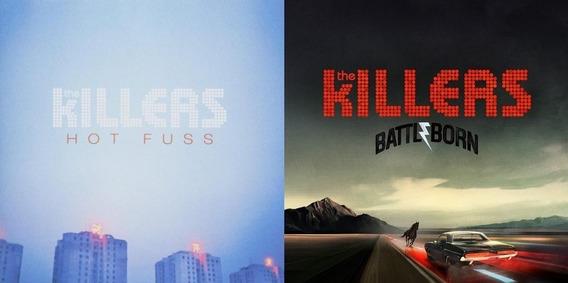 Killers - Lote 2 Cd Hot Fuss Y Battle Born (nuevos Sellados)