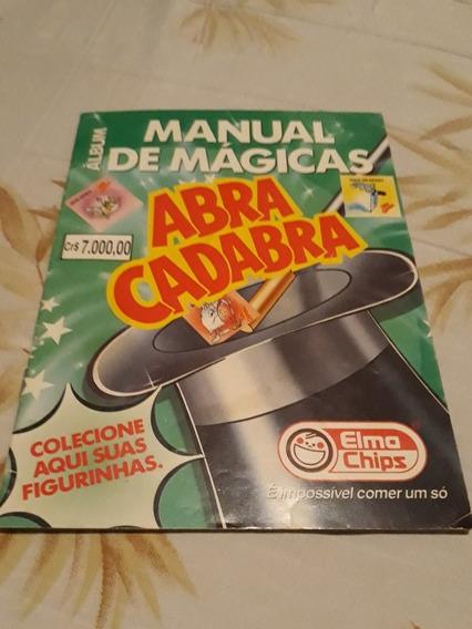 Álbum De Figurinhas Elma Chips Manual De Mágicas Fretegrátis