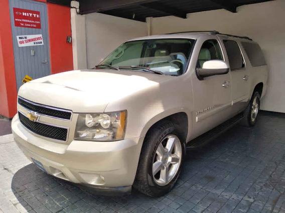 Chevrolet Suburban 2007 D 5p Aut Piel A/a Dvd Q/c 4x4