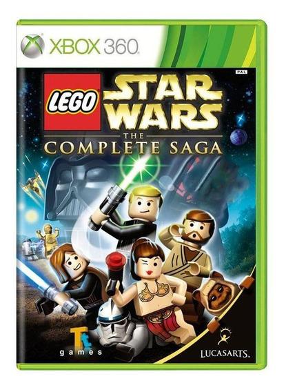 Lego Star Wars The Complete Saga Xbox 360 Mídia Física