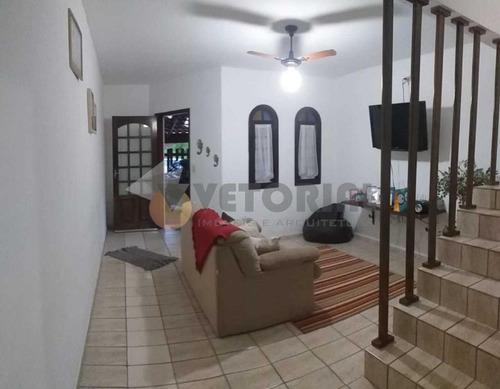Sobrado Com 2 Dormitórios À Venda Por R$ 280.000 - Pontal De Santa Marina - Caraguatatuba/sp - So0155