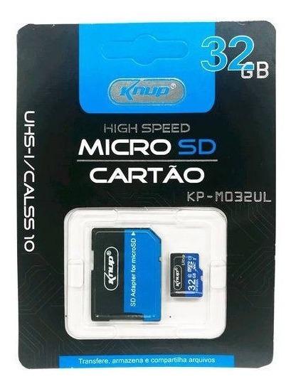 Cartão De Memória Knup 32gb P/ Tablets
