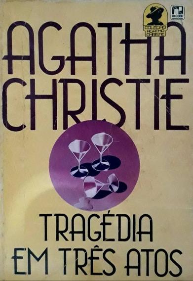Livro Agatha Christie Tragédia Em Três Atos
