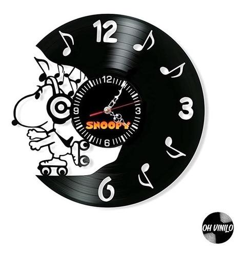 Snoopy Reloj De Pared Y Escritorio Regalo Delivery