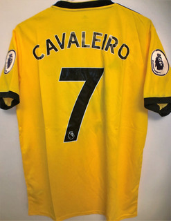 Camisa Do Wolverhampton 2018/19 Cavaleiro #7 Premier League