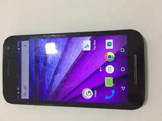 Smartphone Motorola Moto G3 Xt1550 Com Capa E Película