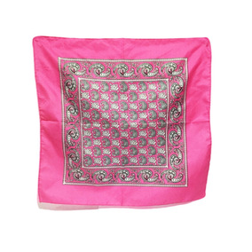 5pzs Paliacate Rosa Pañuelo Moda Estampado
