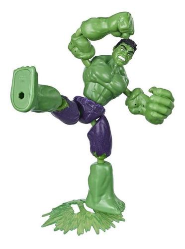 Figura Articulada Bend And Flex  Marvel Vingadores Hulk