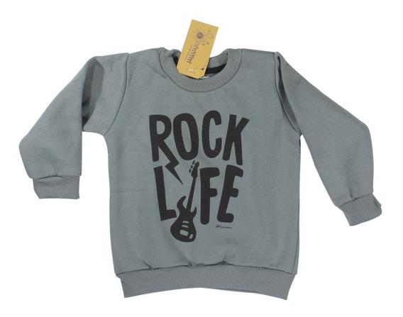Buzos Varon Frizado Rock Life H/ T.8 Regalosdemama