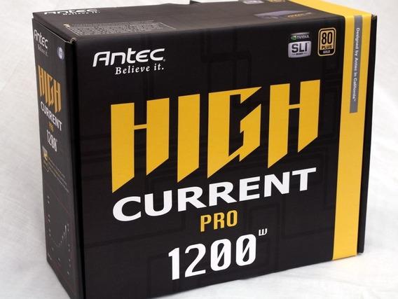 Fonte Antec 1200w 80 Plus Gold Pfc Ativo