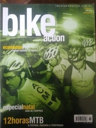 Bike Action Revistas - Ciclismo - Mtb - Speed - Pacote