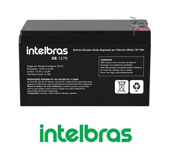 Bateria 12v Intelbras 7a Central,cerca,nobreak