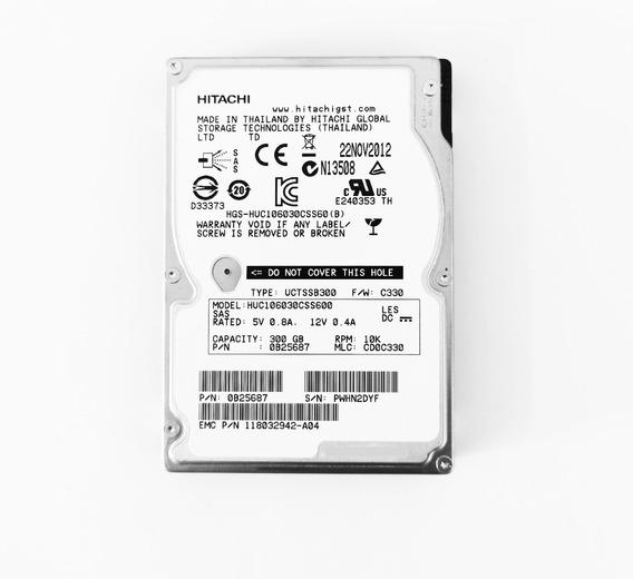 Emc 300gb 10k 2.5 Sas 118032942-a04 Hitachi 0b25687