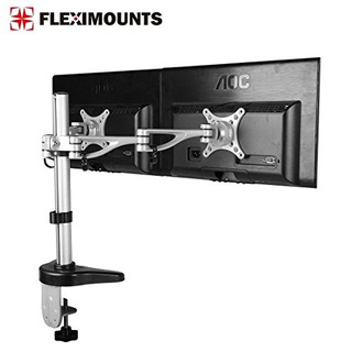 Fleximounts M13 Dual Monitor Stand Desk Mounts For 10 -27 C