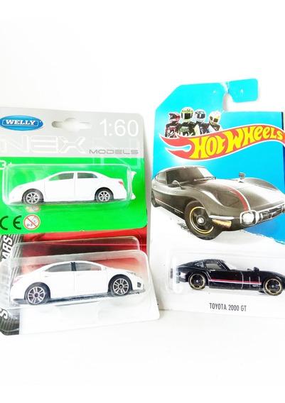 Autos Set X 2 Toyota Corolla 2000 Gt Coleccion 1:64 Metal