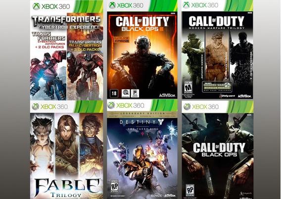 Combo 11 Jogos Originais Para Xbox 360 - Mídia Digital