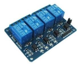 Módulo Relé 4 Canais 5v Arduino Pic