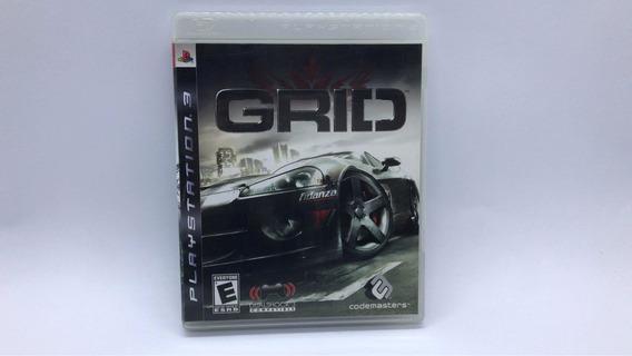 Grid - Ps3 - Midia Fisica Em Cd Original