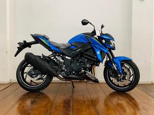 Suzuki Gsx S 750 Za 21/22 0km Azul Triton  Pré Encomenda!!!