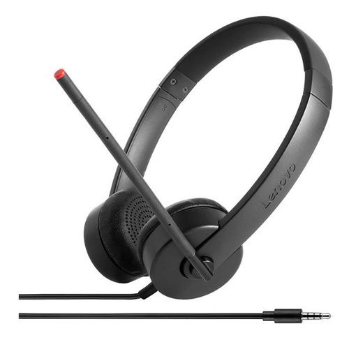 Imagen 1 de 2 de Auriculares Analógicos Estéreo Lenovo 100