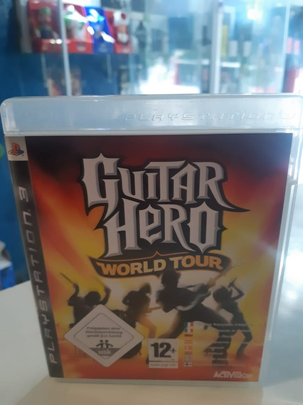 Guitar Hero World Tour Ps3 Midia Física