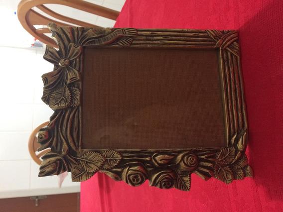 Porta Retratos Em Bronze Maciço - Modelo 4