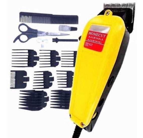 Maquina Corta Cabelo Barba 220vc/ Profissional Kit Completo