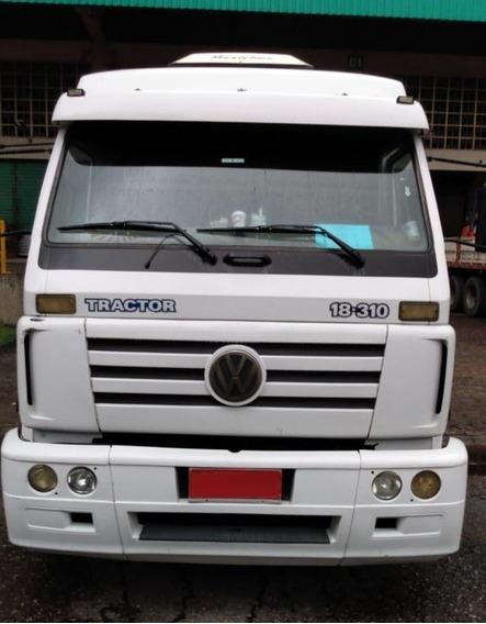 Volks 18.310 - 2005 - 4x2 - Leito - Primeiro Caminhão