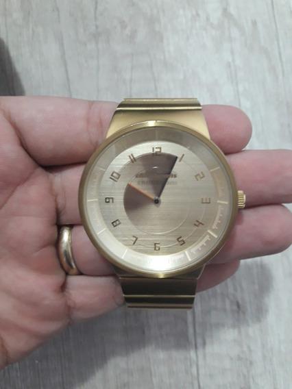 Relógio Chilli Bens Edição Limitada Dourado - Usado
