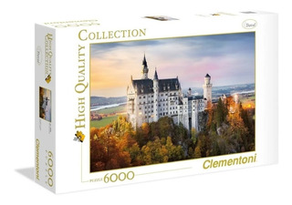Rompecabeza Puzzle Neuschwanstein X 6000 Pzas Clementoni Ful